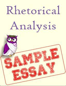 Free essay rhetorical analysis